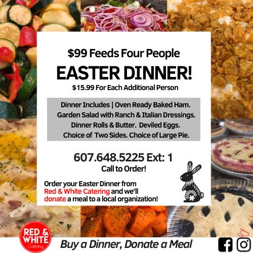 Buy a Easter Meal, Donate a Meal