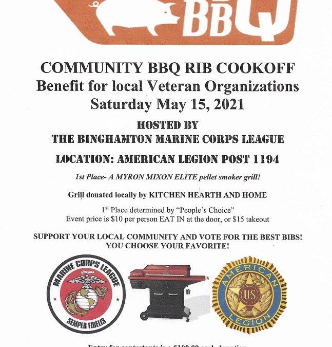 Community BBQ Rib Cook Off