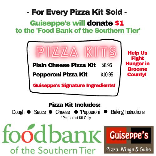 Take Home Pizza Kits