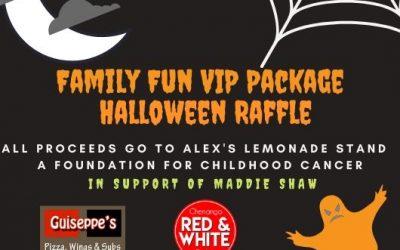 Halloween Family Fun Raffle